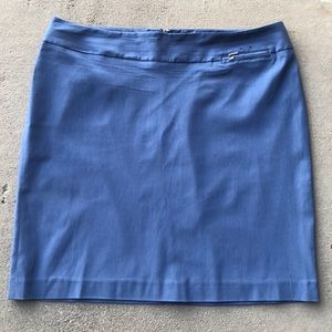 Lane Bryant Blue Pencil Skirt size 18